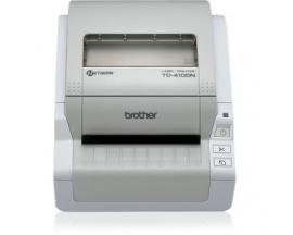 "Impresora térmica directa Brother TD-4100N - Monocromo - 300 x 300 dpi - 98,60 mm (3,88"") Ancho de Impresión - USB -"