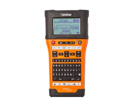 Impresora de etiqueta electrónica Brother P-touch PT-E550WVP - Térmica - 30 mm/s Mono - 180 x 360 dpi - Etiqueta, Cinta -