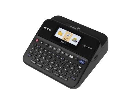 Impresora de etiqueta electrónica Brother P-touch PT-D600VP - Transferencia térmica - 30 mm/s Mono - 180 x 360 dpi - Etiq