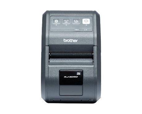 """Impresora de transferencia térmica Brother RJ-3050 - Monocromo - 203 dpi - 72 mm (2,83"""") Ancho de Impresión - USB - LAN inal"""