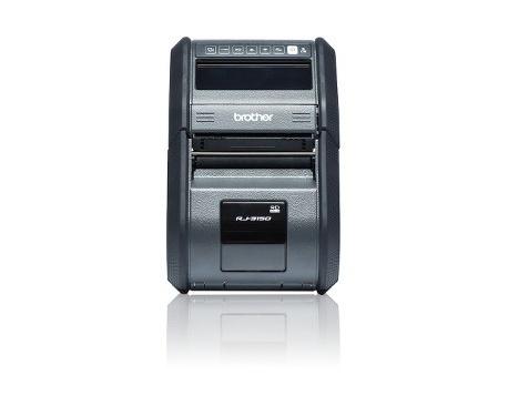 "Impresora térmica directa Brother RuggedJet RJ-3150 - Monocromo - 203 dpi - 72 mm (2,83"") Ancho de Impresión - USB - LCD - L"