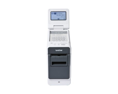 "Impresora térmica directa Brother TD-2130NHC - Monocromo - 300 x 300 dpi - 56 mm (2,20"") Ancho de Impresión - USB - I"