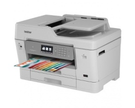 Impresora de inyección de tinta multifunción Brother Business Smart J6000 MFC-J6935DW - Color - Papel para imprimir sencillo - D