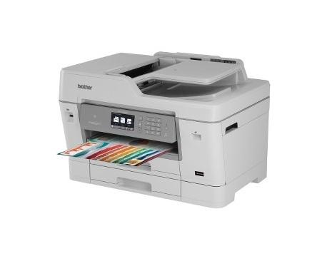 Impresora de inyección de tinta multifunción Brother Business Smart J6000 MFC-J6935DW - Color - Papel para imprimir sencillo - D