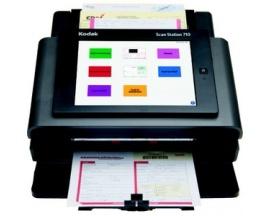 Escáner de superficie plana Kodak Scan Station 710 - 600 ppp Óptico - 30 bits Color - 8-bit Escala de grises - 70 ppm (Mono) - 7