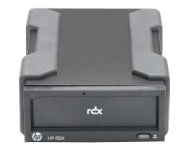 Carcasa de unidad HPE - Externo - Tecnología RDX - 1 x Bahía Total - USB 3.0 - Imagen 1