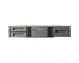 Librería de Cinta HPE StorageWorks MSL202424 Ranura para Cartuchos - 2U - Montaje en bastidor - 1 Año(s) Warranty - Lector de có