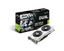 Vga asus nvidia gforce dual-gtx1060-o6g 6gb gddr5 hdmi dvi display port - Imagen 1