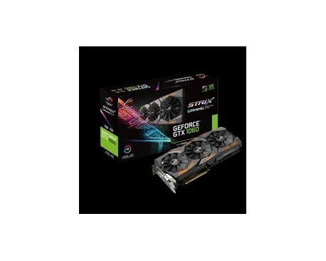 Vga asus rog strix-gtx1060-6g-gaming 6gb-gddr5 dvi hdmi display port - Imagen 1