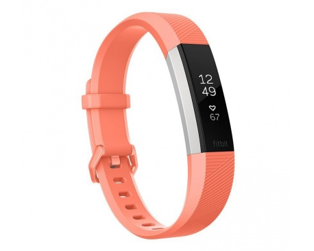 Fitbit - Alta HR Wristband Activity Tracker OLED Alámbrico/Inalámbrico Acero Inoxidable