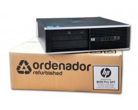 HP 8000 Elite SFF Intel Core 2 Duo E8400 3 GHz. · 4 Gb. DDR3 RAM · 250 Gb. SATA · DVD · COA Windows 7 Professional