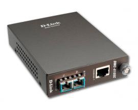 D-Link DMC-810SC Caja abierta - Conversor de señales de par trenzado Gigabit 1000 Base-T a señales de Fibra Single-Mode Gigabit