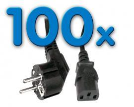 - Alimentación CLB-COR Pack 100 Pack 100 Unidades: Cable Alimentación schuko