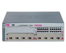 HP ProCurve Switch 5304xl Switch Gestionable 5304xl + 2 x ProCurve 4Port 100/1000-T Module (J4821A) + 1 x ProCurve 24-Port 10/10