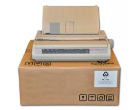 OKI ML 280 Matricial 9 agujas - 80 columnas - Hasta 375 cps Fast Draft - Resolución 240 x 216 cpi - Papel: Original (hojas suelt
