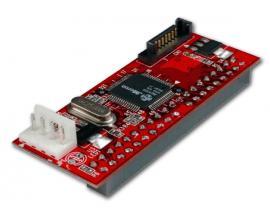 - Adaptador Serial-ATA a IDE Adaptador Serial-ATA a IDE - Conecta dispositivos IDE a un controlador SATA.