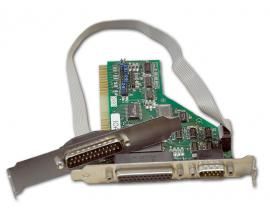 - ISA 2-p Serie + 1-p Paralelo Tarjeta controladora 2 puertos Serie + 1 puerto Paralelo ISA
