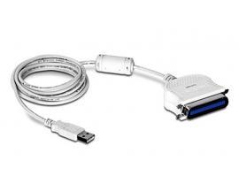 - Adaptador USB a Paralelo Adaptador BLACK BOX USB a puerto Paralelo