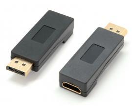 - Adaptador DisplayPort a HDMIAdaptador DisplayPort a HDMI