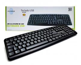 - Teclado KL-TECH USB Idioma: Español. Conectividad:USB.