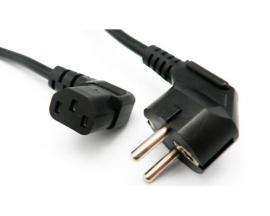 - Cable Alimentación Acodado Cable Alimentación schuko en ''L''