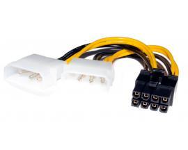 - Cable Corriente 2 MOLEX a 8-pin Adaptador Corriente 2 MOLEX a 8-pins (GRÁFICA)