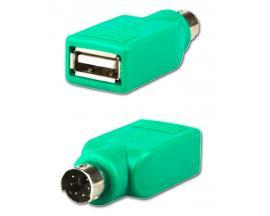- Adaptador USB a PS/2 Adaptador USB a PS/2 (Sólo válido para ratón)