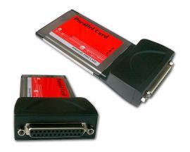 - Tarjeta PCMCIA Puerto ParaleloTarjeta PCMCIA 1 puerto Paralelo
