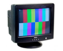 - CRT 17'' DELL E771P Tecnología: CRT 17'' - Resolución: 1024 x 768 - Pixel Pitch: 0.27mm - Salidas: 1xVGA