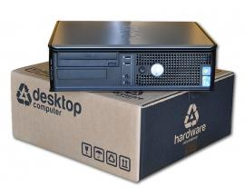 Dell Optiplex GX755 SD Intel Core 2 Duo E6750 2.6 GHz. · 4 Gb. DDR2 RAM · 80 Gb. SATA · DVD-RW · COA Windows 7 Home Premium - Im