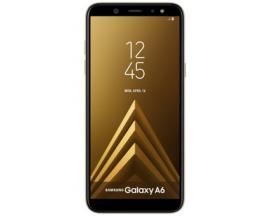 "Telefono movil smartphone samsung galaxy a6 dorado / 5.6"" / 32gb rom / 3gb ram / 16mpx - 16mpx / octa core / 4g / dual sim / lec"