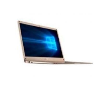 """Portatil innjoo leapbook m200 gold / 14.1"""" / metalico / w10 / 32gb mmc / 2gb dd3l / intel quad core / 10000 mah - Imagen 1"""
