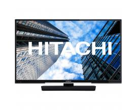 "Tv hitachi 43"" led 4k uhd/ 43hk4w64/ hdr10/hlg/ smart tv/ wifi/ bluetooth/ 3 hdmi/ 2 usb/ modo hotel/ a+/ dvb t2/cable/s2"