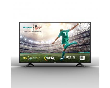 """Tv hisense 43"""" led 4k uhd/ 43a6100/ hdr/ smart tv/ wifi/ 3 hdmi/ 2 usb/ dvb-t2/t/c/s2/s/ quad core - Imagen 1"""