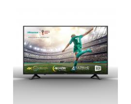 "Tv hisense 55"" led 4k uhd/ 55a6100/ hdr/ smart tv/ wifi/ 3 hdmi/ 2 usb/ dvb-t2/t/c/s2/s/ quad core"