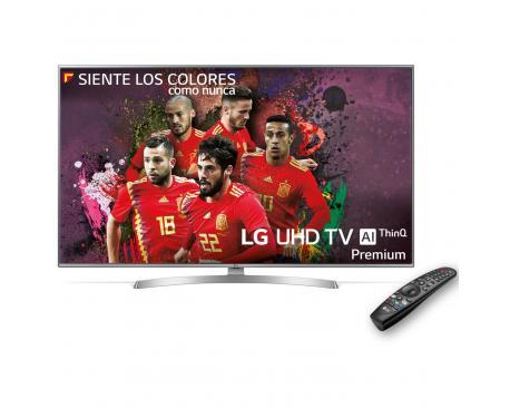 """Tv lg 49"""" led 4k uhd/ 49uk7550pla/ hdr10/ 20w/ dvb-t2/c/s2/ smart tv/ hdmi/ usb - Imagen 1"""