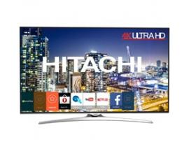 "Tv hitachi 65"" led 4k uhd/ 65hl15w64/ hdr 10/ smart tv/ wifi/ bluetooth/ 3 hdmi/ 2 usb/ modo hotel/ a+/ dvb t2/cable/s2"