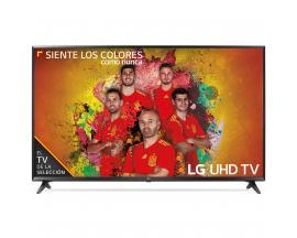 """Tv lg 55"""" led 4k uhd/ 55uk6100plb/ hdr/ 20w/ dvb-t2/c/s2/ smart tv/ hdmi/ usb - Imagen 1"""