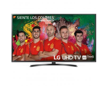 """Tv lg 50"""" led 4k uhd/ 50uk6470plc/ hdr/ 20w/ dvb-t2/c/s2/ hdmi/ usb - Imagen 1"""