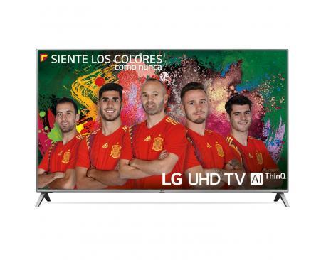 """Tv lg 50"""" led 4k uhd/ 50uk6500pla/ hdr/ 20w/ dvb-t2/c/s2/ smart tv/ hdmi/ usb - Imagen 1"""