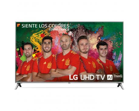 "Tv lg 55"" led 4k uhd/ 55uk6500pla/ hdr/ 20w/ dvb-t2/c/s2/ smart tv/ hdmi/ usb - Imagen 1"