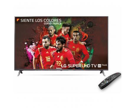 """Tv lg 55"""" led 4k suhd/ 55sk8000plb/ hdr/ 20w/ dvb-t2/c/s2/ smart tv/ hdmi/ usb - Imagen 1"""