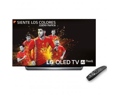"""Tv lg 55"""" oled 4k uhd/ oled55c8pla/ hdr/ 40w/ dvb-t2/c/s2/ smart tv/ hdmi/ usb - Imagen 1"""