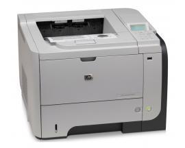 HP LaserJet P3015NVelocidad: Hasta 42 ppm - Resolución: 1200 x 1200 dpi - Memoria: 128 Mb. RAM - Conectividad: USB, Ethernet