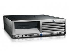 HP DC7700 SFF Intel Core 2 E6600 2.4 GHz. · 2 Gb. DDR2 RAM · 80 Gb. SATA · DVD · COA Windows XP Professional - Imagen 1