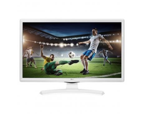 "Monitor tv led lg 24"" 24tk410v 1366 x 768 5ms tdt hdmi usb blanco - Imagen 1"