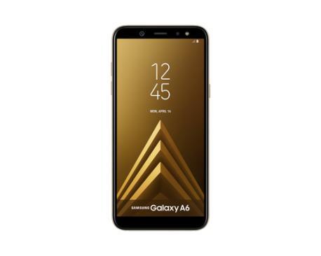 "Samsung SM-A600F 5.6"" Ranura híbrida Dual SIM 4G 3GB 32GB 3000mAh Oro - Imagen 1"