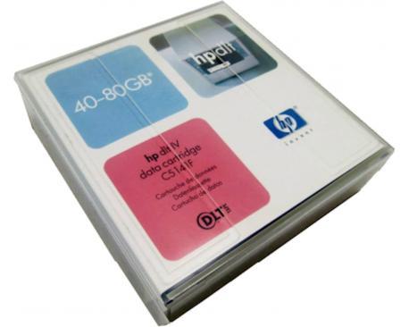 - Cartucho HP DLT 4 40/80Gb.   Cartucho HP DLT IV 40/80 Gb. - Imagen 1