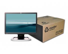 HP L1945WV TFT 19 '' 16:10  · Resolución 1440x900 · Dot pitch 0.283 mm · Respuesta 5 ms · Contraste 1000:1 · Brillo 300 cd/m2 ·