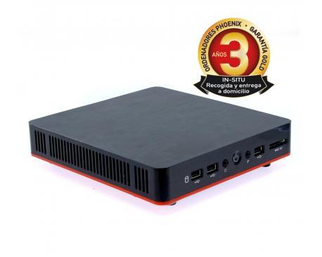 Ordenador phoenix compact intel celeron 4gb ddr3 1tb wifi vesa 100x100 - Imagen 1